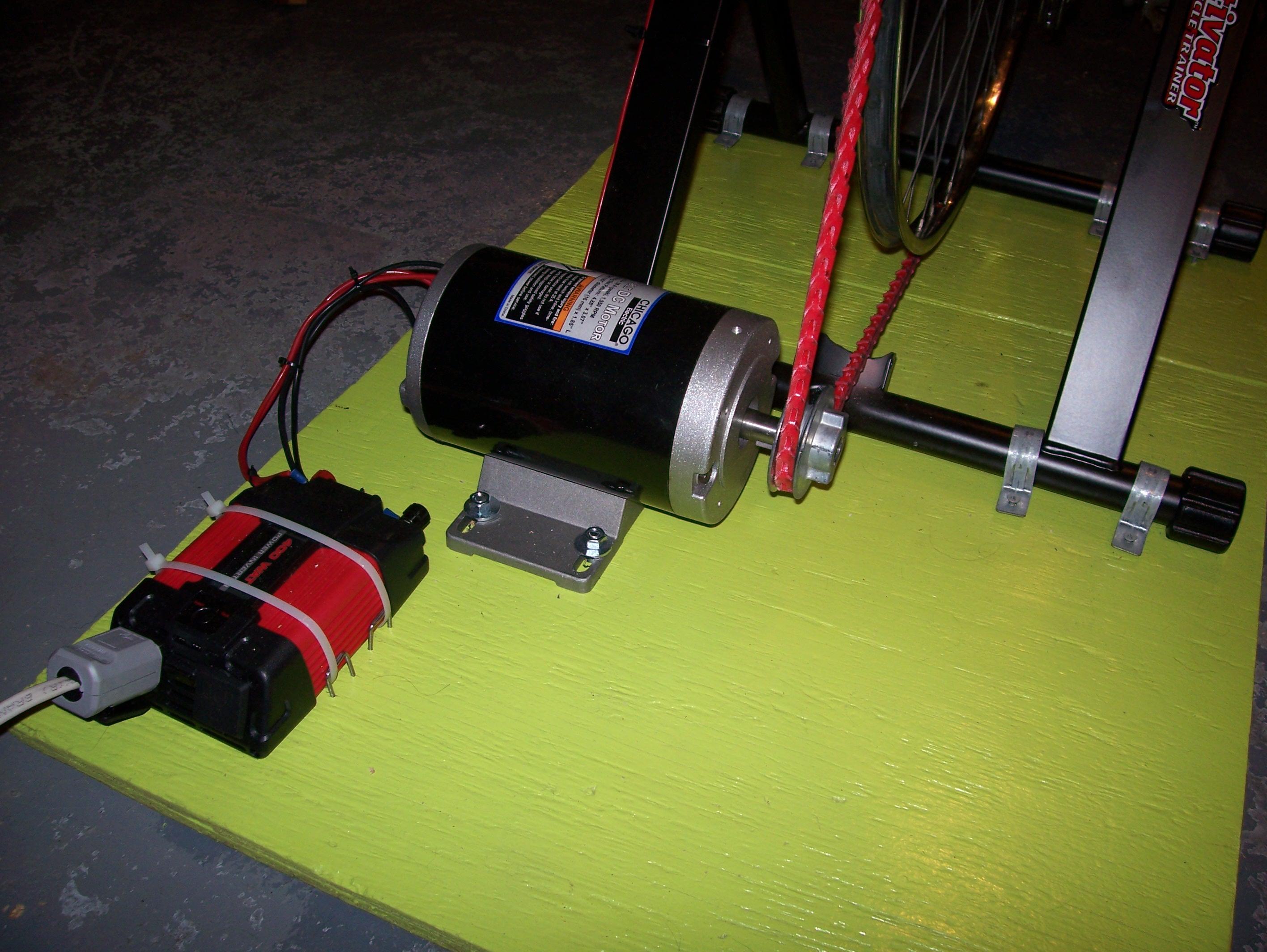 Bike Powered Generator